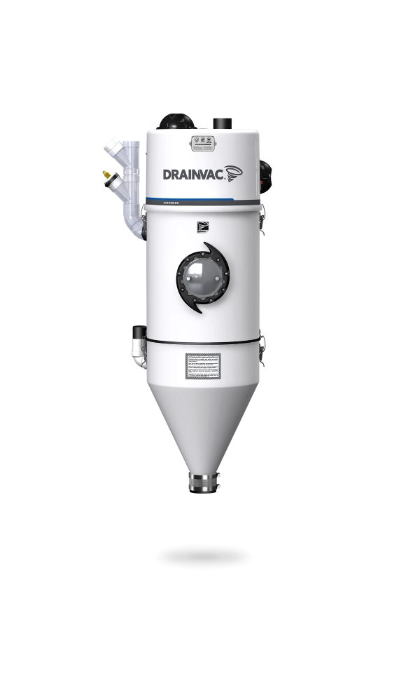 DrainVac DV2A310 residential wet and dry central vacuum