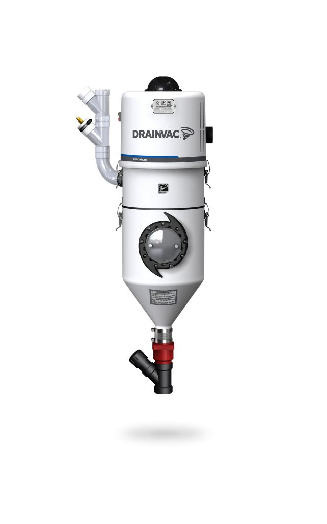 DrainVac DV1A150 wet and dry central vacuum