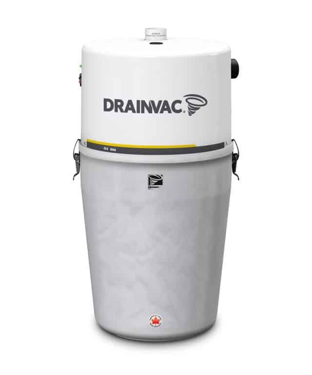 DrainVac G2-008 central vacuum