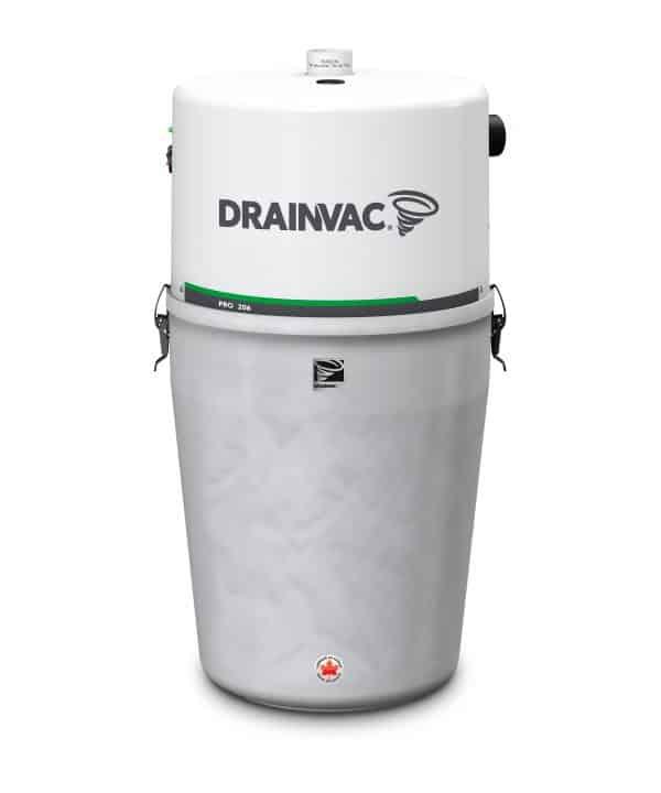 DrainVac PRO206 central vacuum