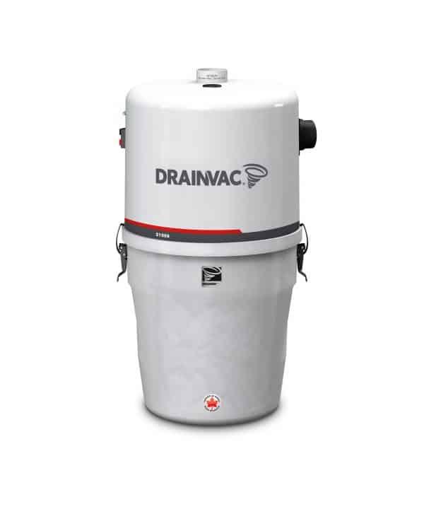DrainVac S1008 central vacuum