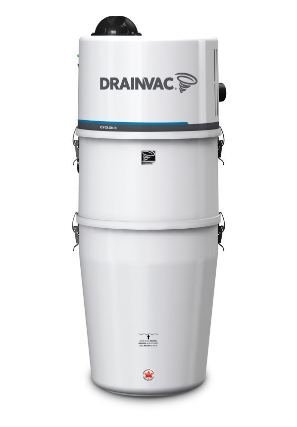 DrainVac DV1R12 wet and dry central vacuum