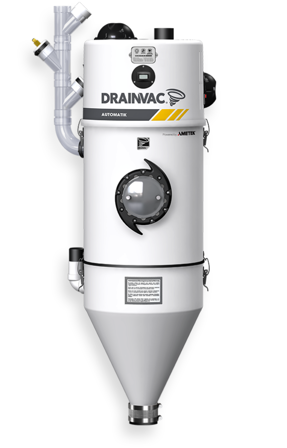 wet and dry commercial central vacuum