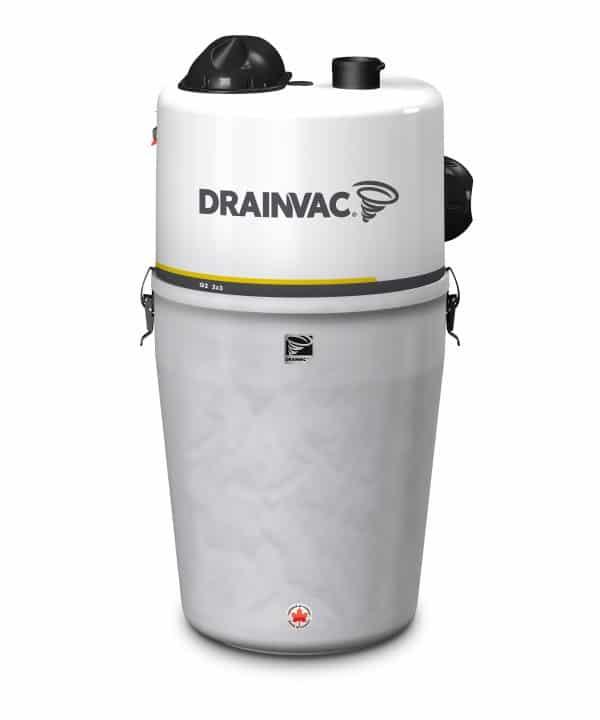 DrainVac G2-2X3-M residential central vacuum