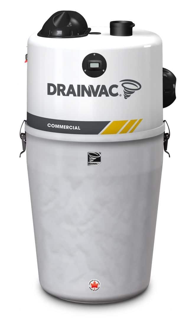 commercial central vacuum Drainvac 2AC9922-CT