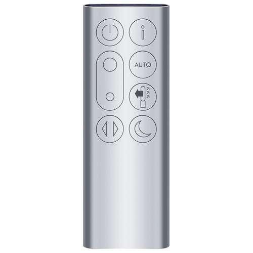 Dyson Pure Cool HEPA Air Purifier & Fan Tower White Silver remote