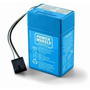 Power Wheels® 6 Volt Blue 4 Amp Battery