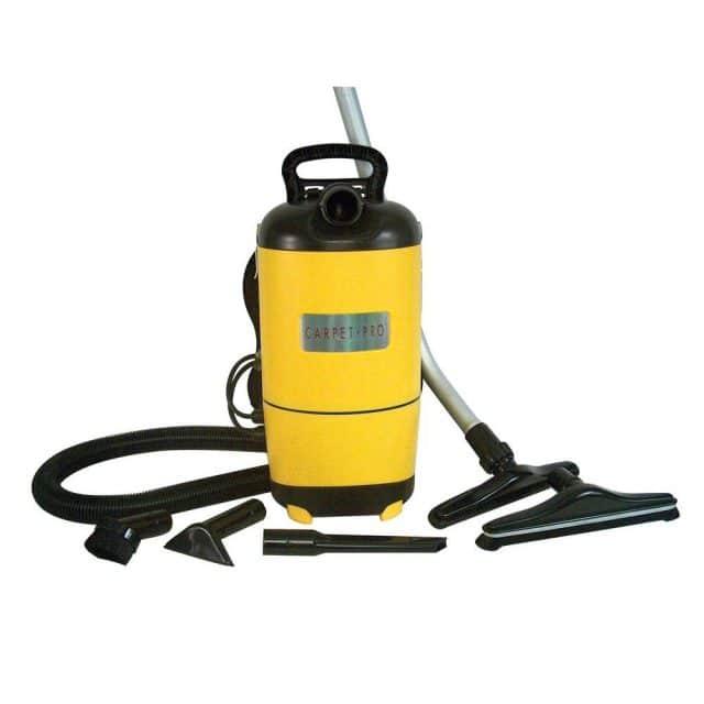 Carpet Pro SCBP-1 Backpack Vacuum