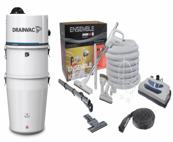 Drainvac DV1R12 wet & dry central vacuum