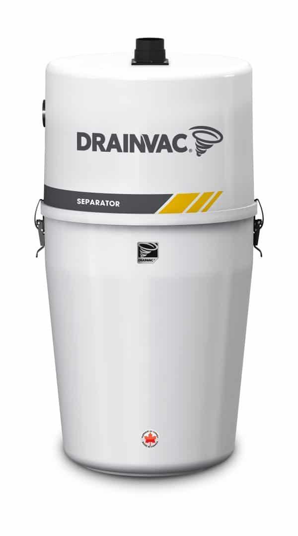 Drainvac SEPA15 central vacuum separator