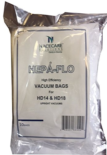 nacecare hd upright bags hepaflo