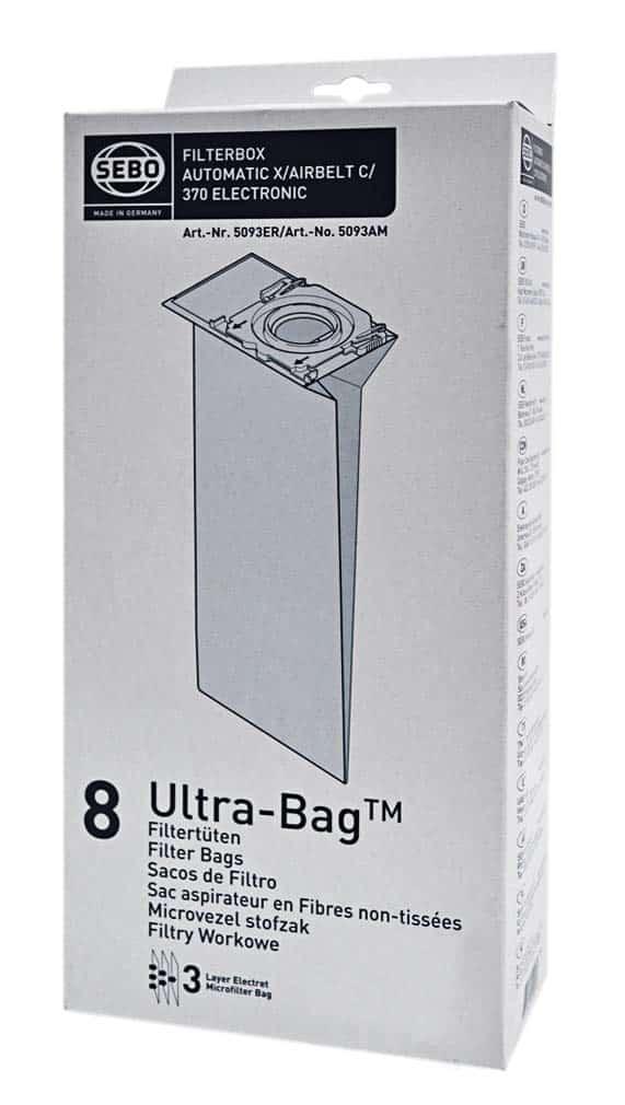 sebo x/g/m/c vacuum bags