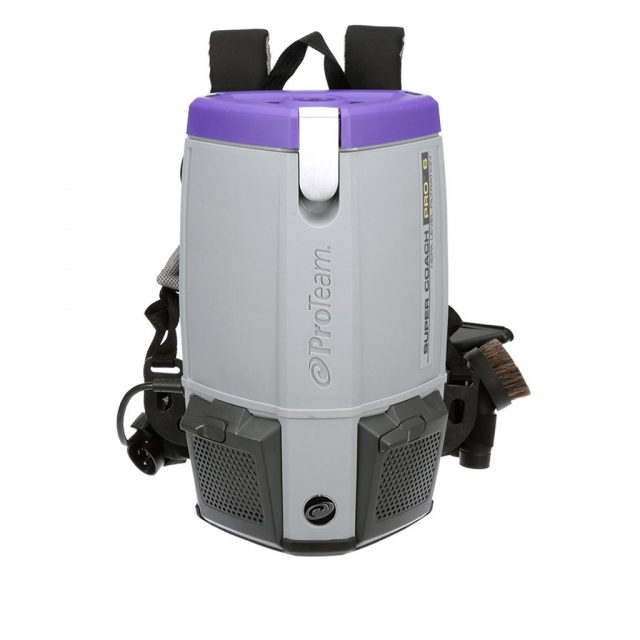 Proteam Super Coach Pro 6 commercial backpack vacuum
