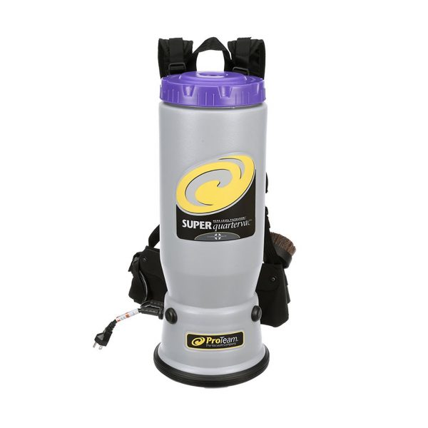 Super QuarterVac 6 qt 107118 backpack vacuum