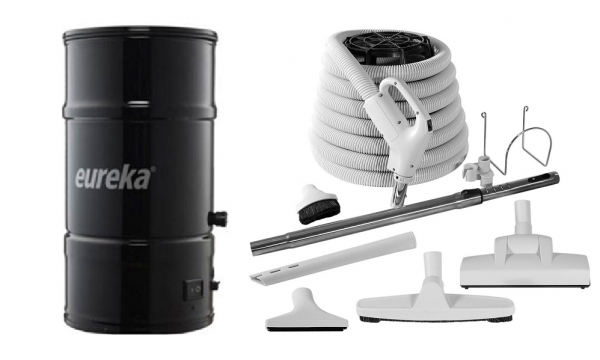 Eureka 550 Central Vacuum package