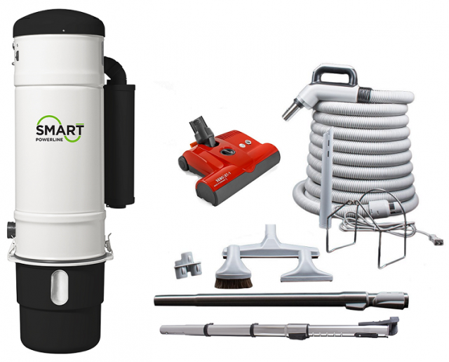 smart central vacuum package