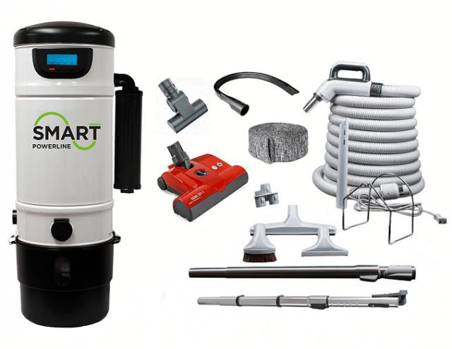 smart central vacuum