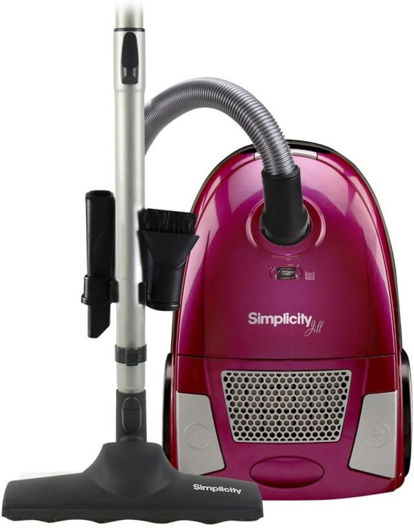 Simplicity canister vacuum