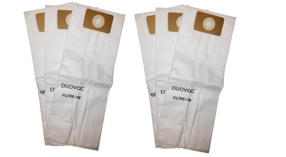 Husky central vacuum bags