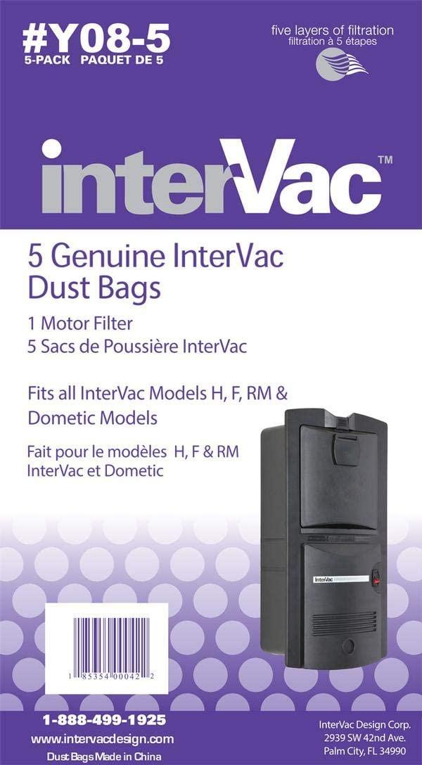 RV central vacuum bags